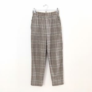 H&M Pants - H&M Plaid Trousers